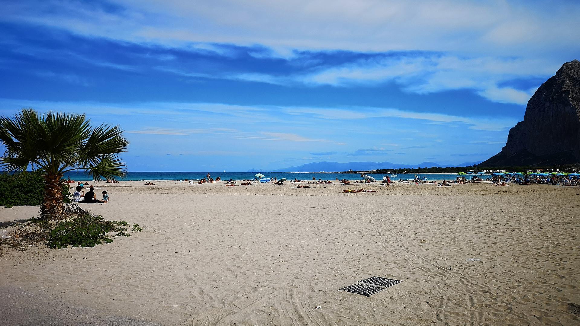 Spiaggia immensa
