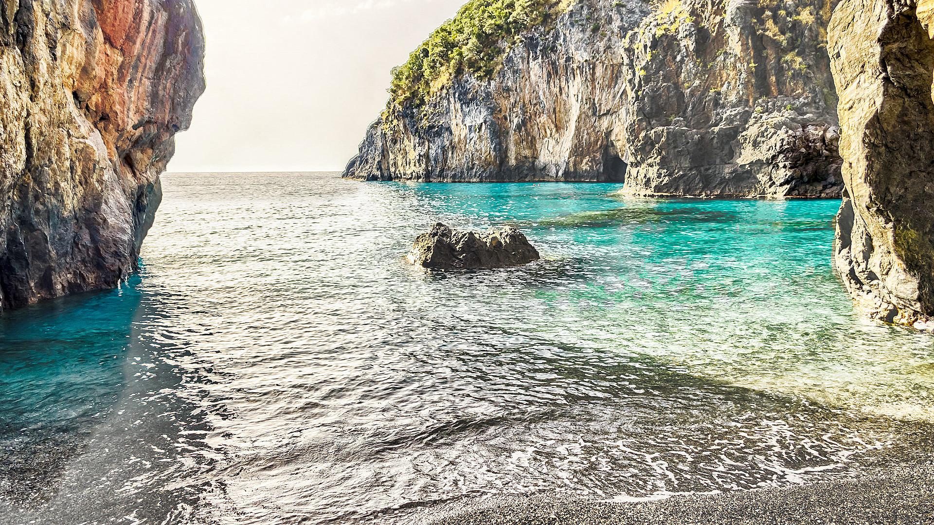 Spiagga dell'Arco Magno