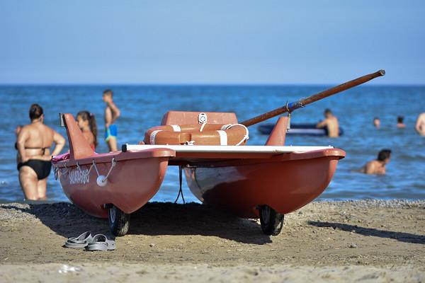 Spiaggia libera Pineta